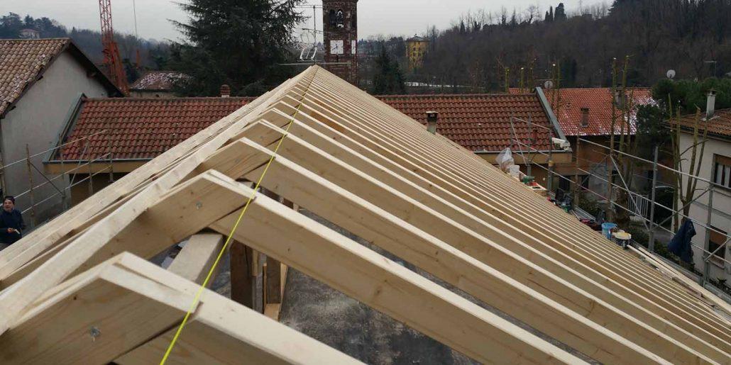 realizzazione tetti in legno Cantone Ticino