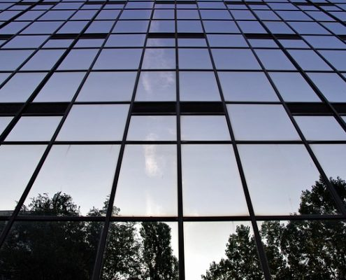 realizzazione casa vetro